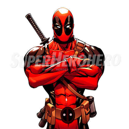 Designs Deadpool Iron on Transfers (Wall & Car Stickers) No.4947