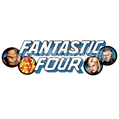 Designs Fantastic Four Iron on Transfers (Wall & Car Stickers) No.4949