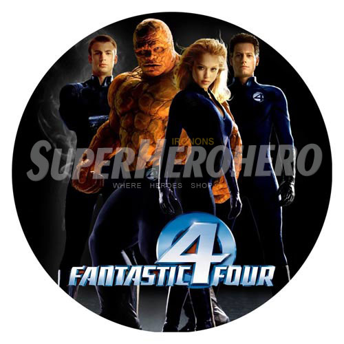 Designs Fantastic Four Iron on Transfers (Wall & Car Stickers) No.4951