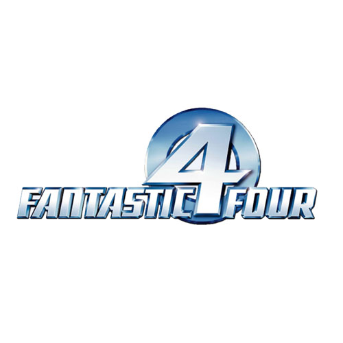Designs Fantastic Four Iron on Transfers (Wall & Car Stickers) No.5988