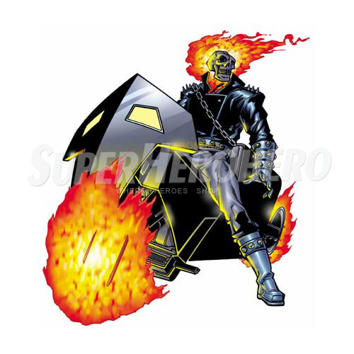 Designs Ghost Rider Iron on Transfers (Wall & Car Stickers) No.4953