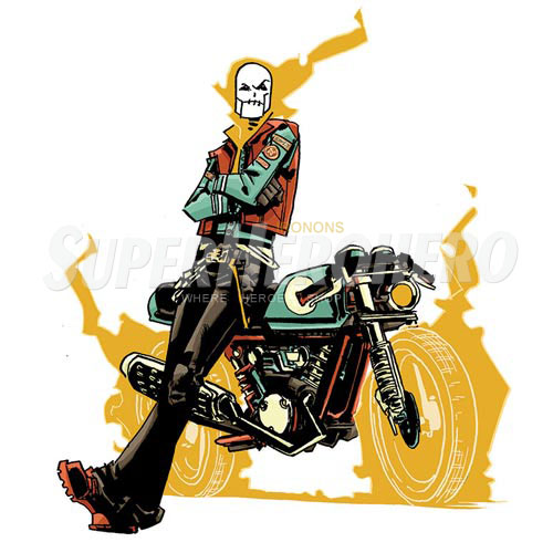 Designs Ghost Rider Iron on Transfers (Wall & Car Stickers) No.4955