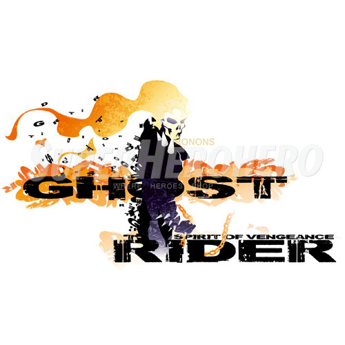 Designs Ghost Rider Iron on Transfers (Wall & Car Stickers) No.4958