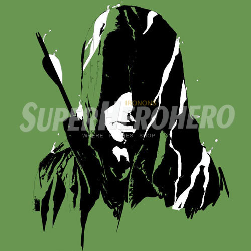 Designs Green Arrow Iron on Transfers (Wall & Car Stickers) No.4969