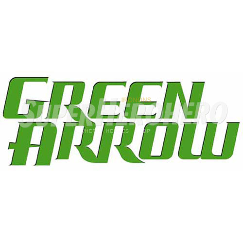 Designs Green Arrow Iron on Transfers (Wall & Car Stickers) No.4970