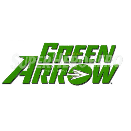 Designs Green Arrow Iron on Transfers (Wall & Car Stickers) No.4972