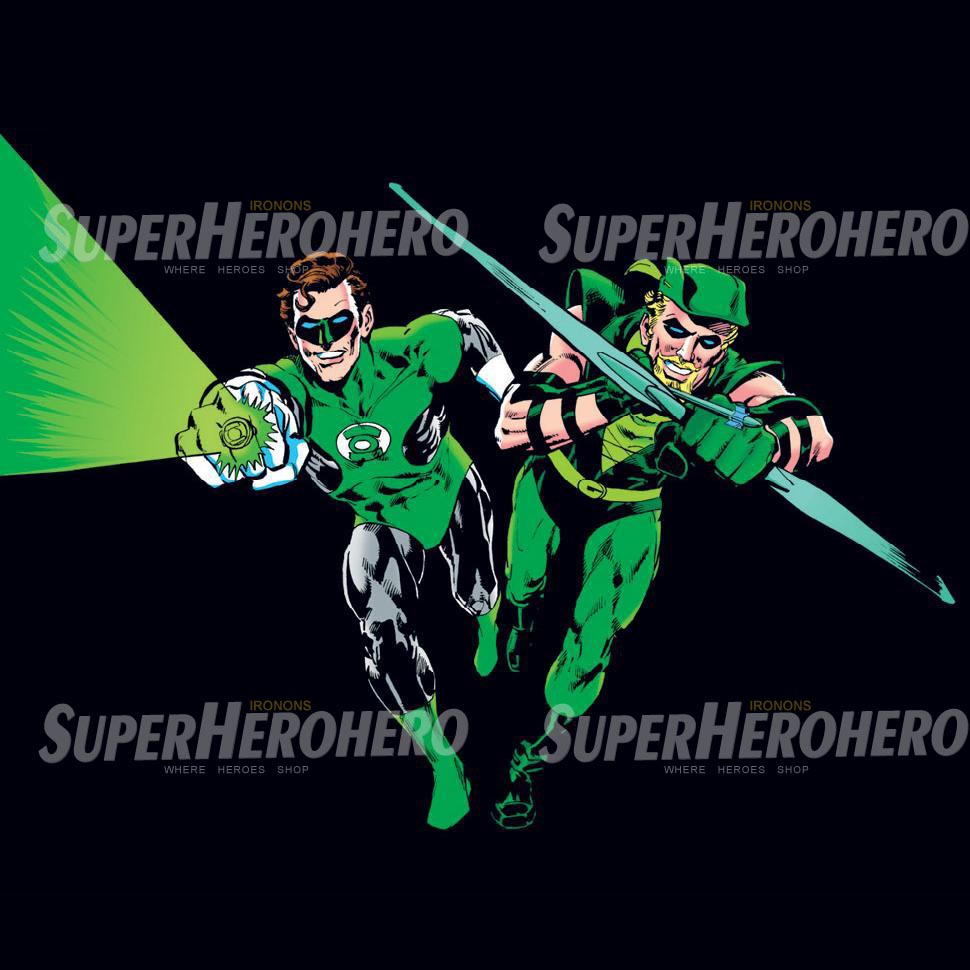 Designs Green Lantern Iron on Transfers (Wall & Car Stickers) No.4508