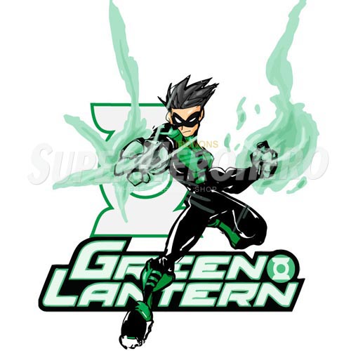 Designs Green Lantern Iron on Transfers (Wall & Car Stickers) No.4511