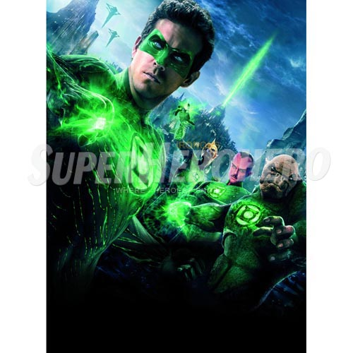 Designs Green Lantern Iron on Transfers (Wall & Car Stickers) No.4512