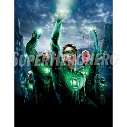 Designs Green Lantern Iron on Transfers (Wall & Car Stickers) No.4513
