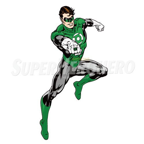 Designs Green Lantern Iron on Transfers (Wall & Car Stickers) No.4516