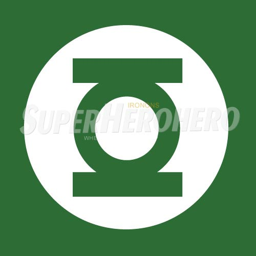Designs Green Lantern Iron on Transfers (Wall & Car Stickers) No.4517