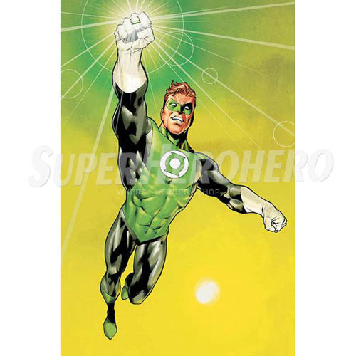 Designs Green Lantern Iron on Transfers (Wall & Car Stickers) No.4518