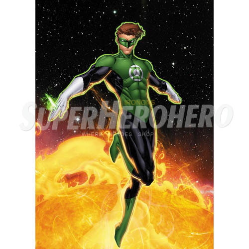 Designs Green Lantern Iron on Transfers (Wall & Car Stickers) No.4519