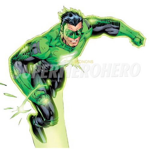 Designs Green Lantern Iron on Transfers (Wall & Car Stickers) No.4521