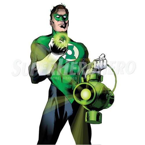Designs Green Lantern Iron on Transfers (Wall & Car Stickers) No.4523