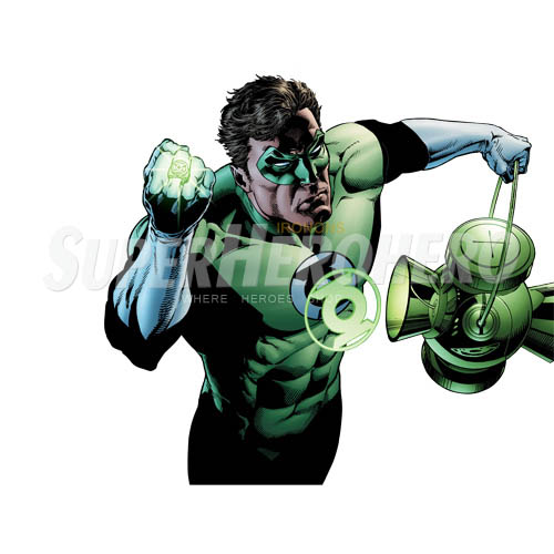 Designs Green Lantern Iron on Transfers (Wall & Car Stickers) No.4525