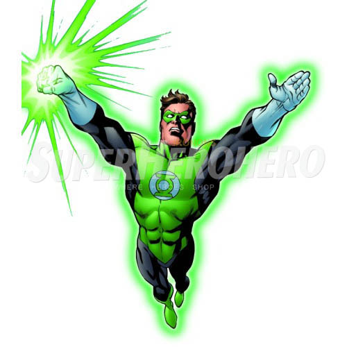Designs Green Lantern Iron on Transfers (Wall & Car Stickers) No.4526