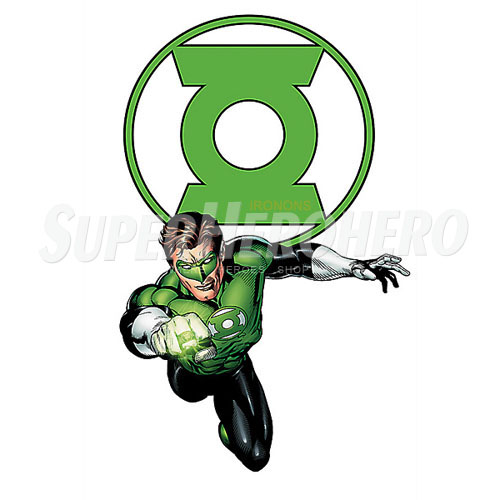 Designs Green Lantern Iron on Transfers (Wall & Car Stickers) No.4527
