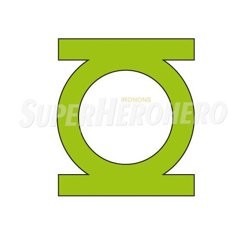 Designs Green Lantern Iron on Transfers (Wall & Car Stickers) No.4529