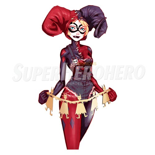 Custom Harley Quinn Iron on Transfers (Wall & Car Stickers) No.7618