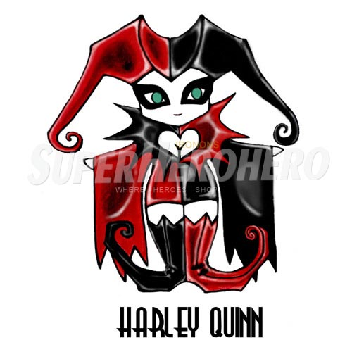 Custom Harley Quinn Iron on Transfers (Wall & Car Stickers) No.7621