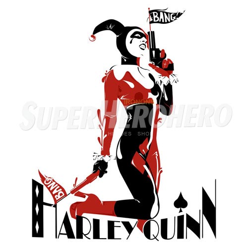 Custom Harley Quinn Iron on Transfers (Wall & Car Stickers) No.7622