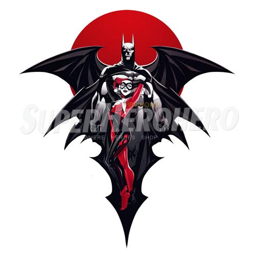 Custom Harley Quinn Iron on Transfers (Wall & Car Stickers) No.7627