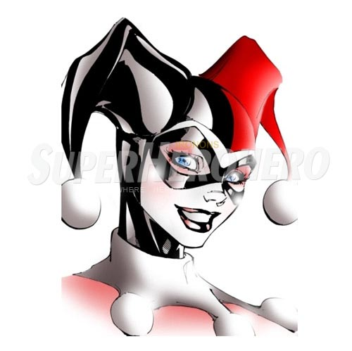Custom Harley Quinn Iron on Transfers (Wall & Car Stickers) No.7637