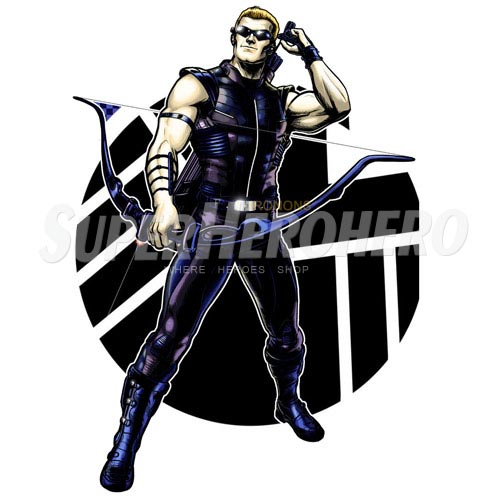 Custom Hawkeye Iron on Transfers (Wall & Car Stickers) No.6468
