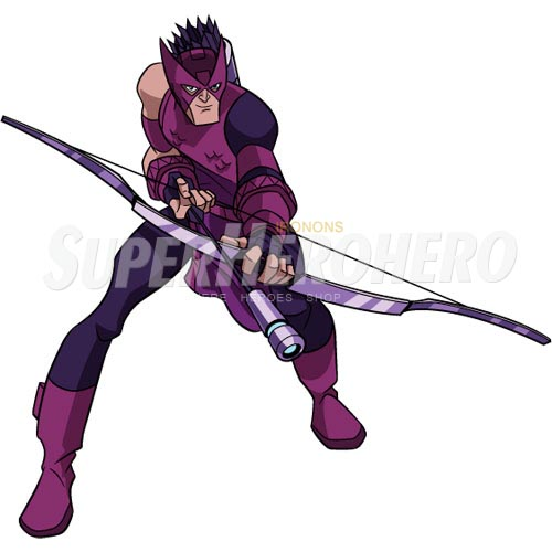 Custom Hawkeye Iron on Transfers (Wall & Car Stickers) No.6471