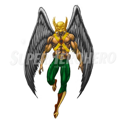 Custom Hawkman Iron on Transfers (Wall & Car Stickers) No.7650