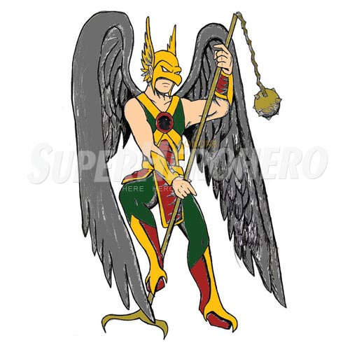 Custom Hawkman Iron on Transfers (Wall & Car Stickers) No.7651