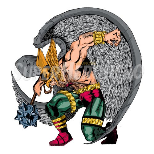 Custom Hawkman Iron on Transfers (Wall & Car Stickers) No.7656