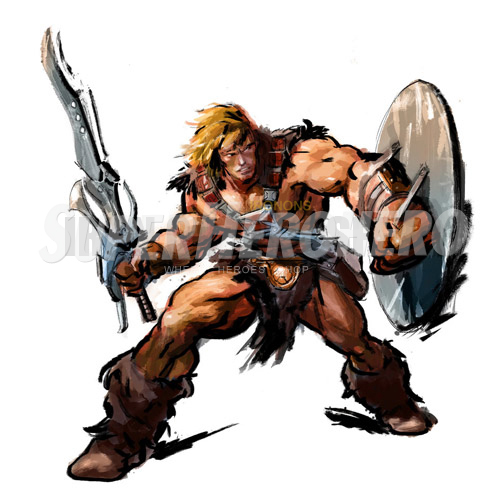 Custom He Man Iron on Transfers (Wall & Car Stickers) No.7662