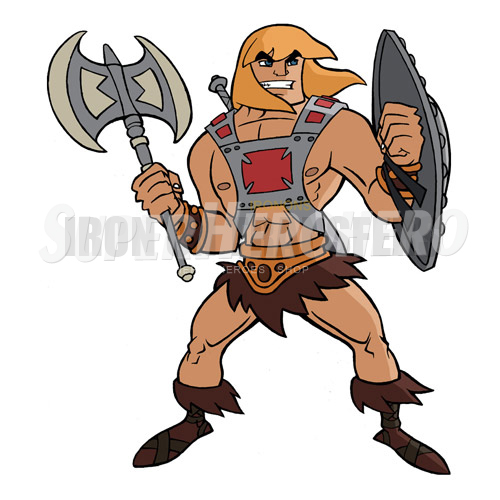 Custom He Man Iron on Transfers (Wall & Car Stickers) No.7664