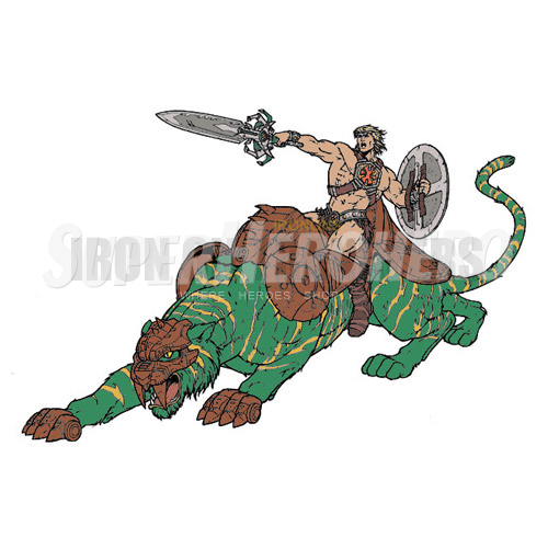 Custom He Man Iron on Transfers (Wall & Car Stickers) No.7665
