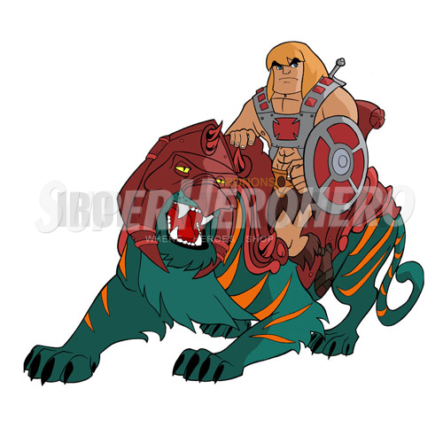 Custom He Man Iron on Transfers (Wall & Car Stickers) No.7666