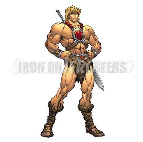 Custom He Man Iron on Transfers (Wall & Car Stickers) No.7667
