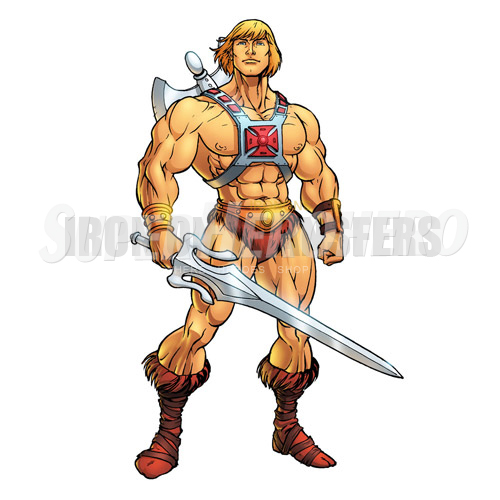 Custom He Man Iron on Transfers (Wall & Car Stickers) No.7669