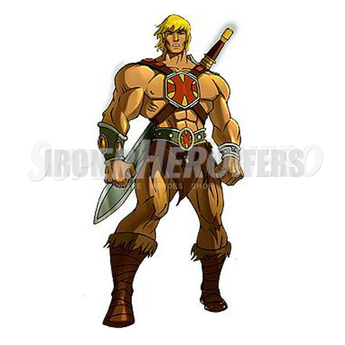 Custom He Man Iron on Transfers (Wall & Car Stickers) No.7670