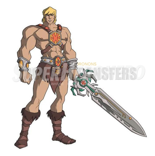 Custom He Man Iron on Transfers (Wall & Car Stickers) No.7671