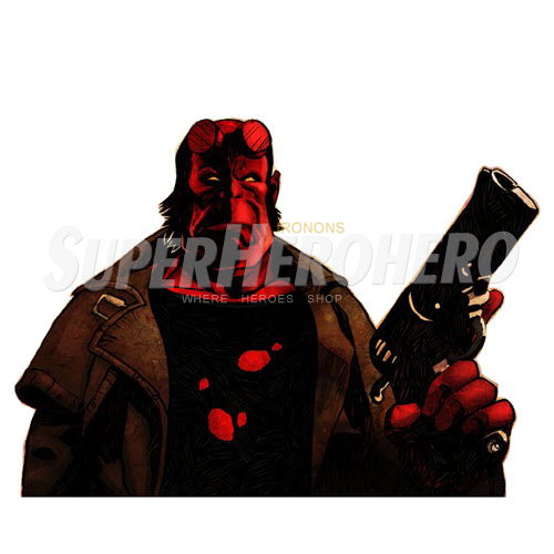 Designs Hellboy BPRD Iron on Transfers (Wall & Car Stickers) No.4997
