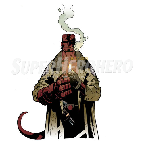 Designs Hellboy BPRD Iron on Transfers (Wall & Car Stickers) No.4998