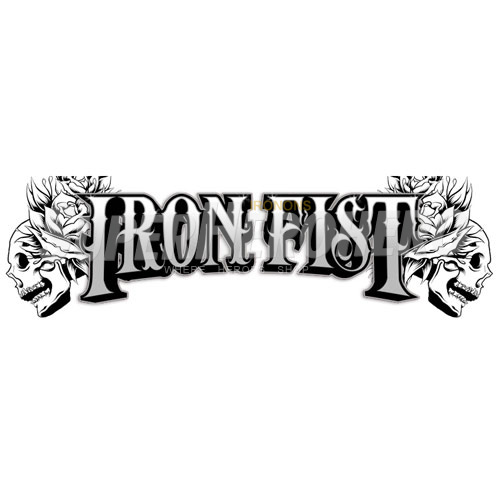 Custom Iron Fist Iron on Transfers (Wall & Car Stickers) No.6533