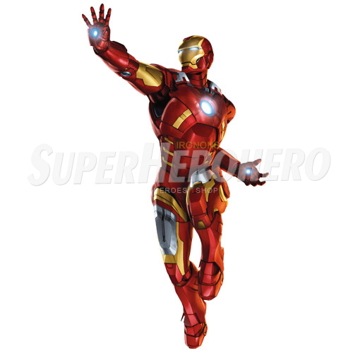 Designs Iron Man Iron on Transfers (Wall & Car Stickers) No.4554