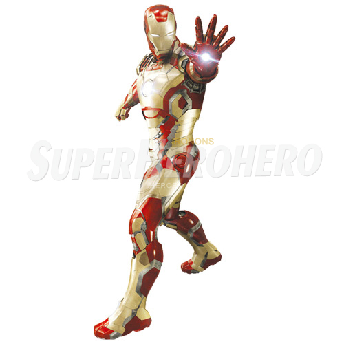 Designs Iron Man Iron on Transfers (Wall & Car Stickers) No.4557