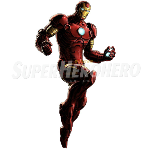 Designs Iron Man Iron on Transfers (Wall & Car Stickers) No.4561