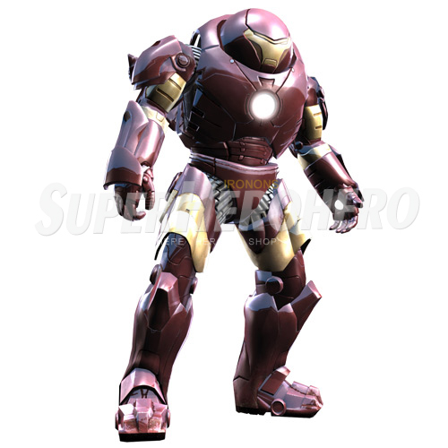 Designs Iron Man Iron on Transfers (Wall & Car Stickers) No.4562