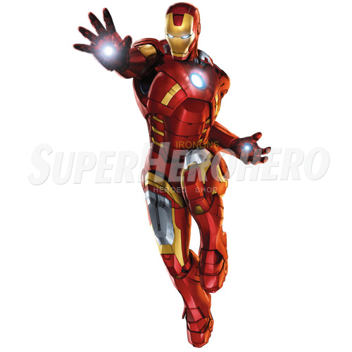 Designs Iron Man Iron on Transfers (Wall & Car Stickers) No.4564